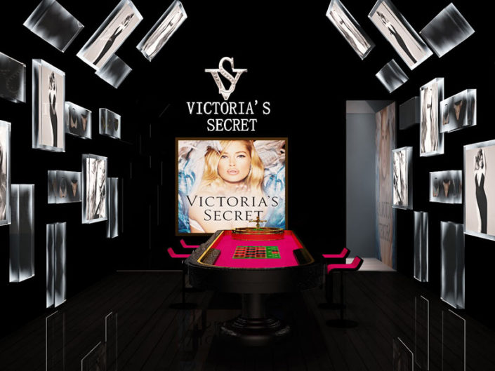 POP-UP STORE PRO VICTORIA'S SECRET